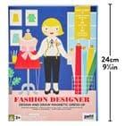 Petit Collage Fashion Designer magnetic dress up set